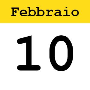 10 febbraio