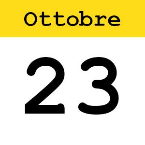 23 ottobre