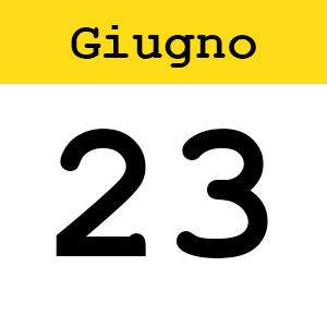 23 GIUGNO