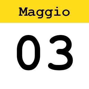 3 MAGGIO