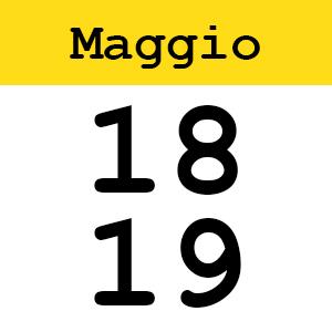 18-19 Maggio